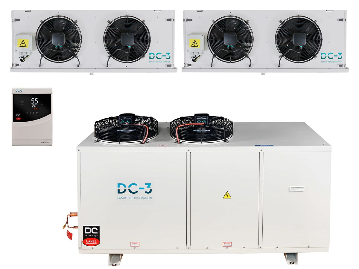 DC-3 Cold Room Kit 8.5KW High Humidity Dual Evap