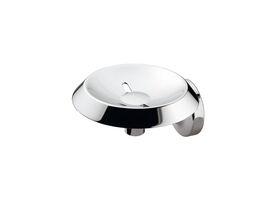 Sonia E-Plus Grooved Metal Soap Dish Chrome