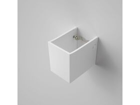 Caroma Shroud suits Liano Basin White