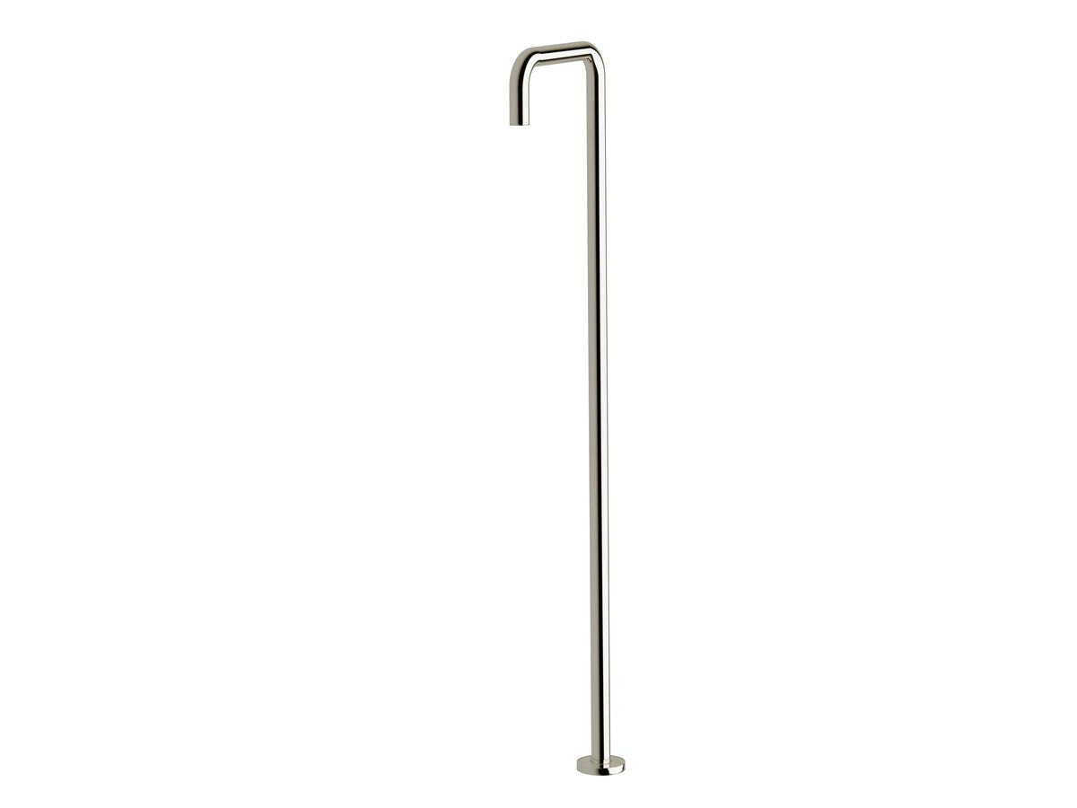 Sussex Scala Floor Mounted Basin Outlet Square Chrome