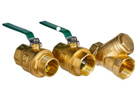 Wilkins Backflow Double Check Valve with Ball Valve 25mm