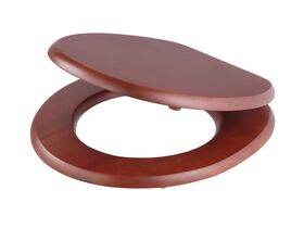 Posh Timber Standard Toilet Seat Oak Cherry