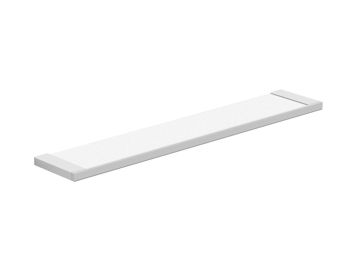 Milli Edge Glass Shelf Chrome