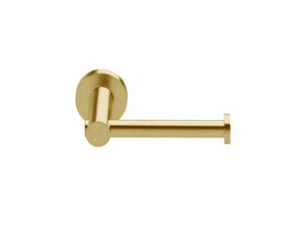 Scala Straight Toilet Roll Holder LUX PVD Brushed Pure Gold