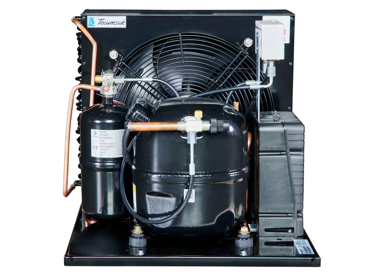 Tecumseh AJ2 HTA Condensing Unit 1 1/2HP R404 LBP CAJT2464ZBR-FZ-3 with Pressure Control