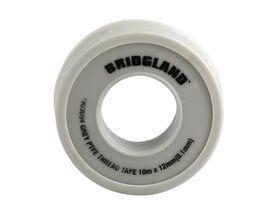 Bridgland Grey PTFE Tape 12mm x 10mtr