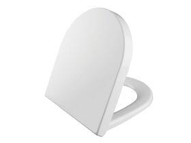 AXA Uno MKII Soft Close Quick Release Toilet Seat White