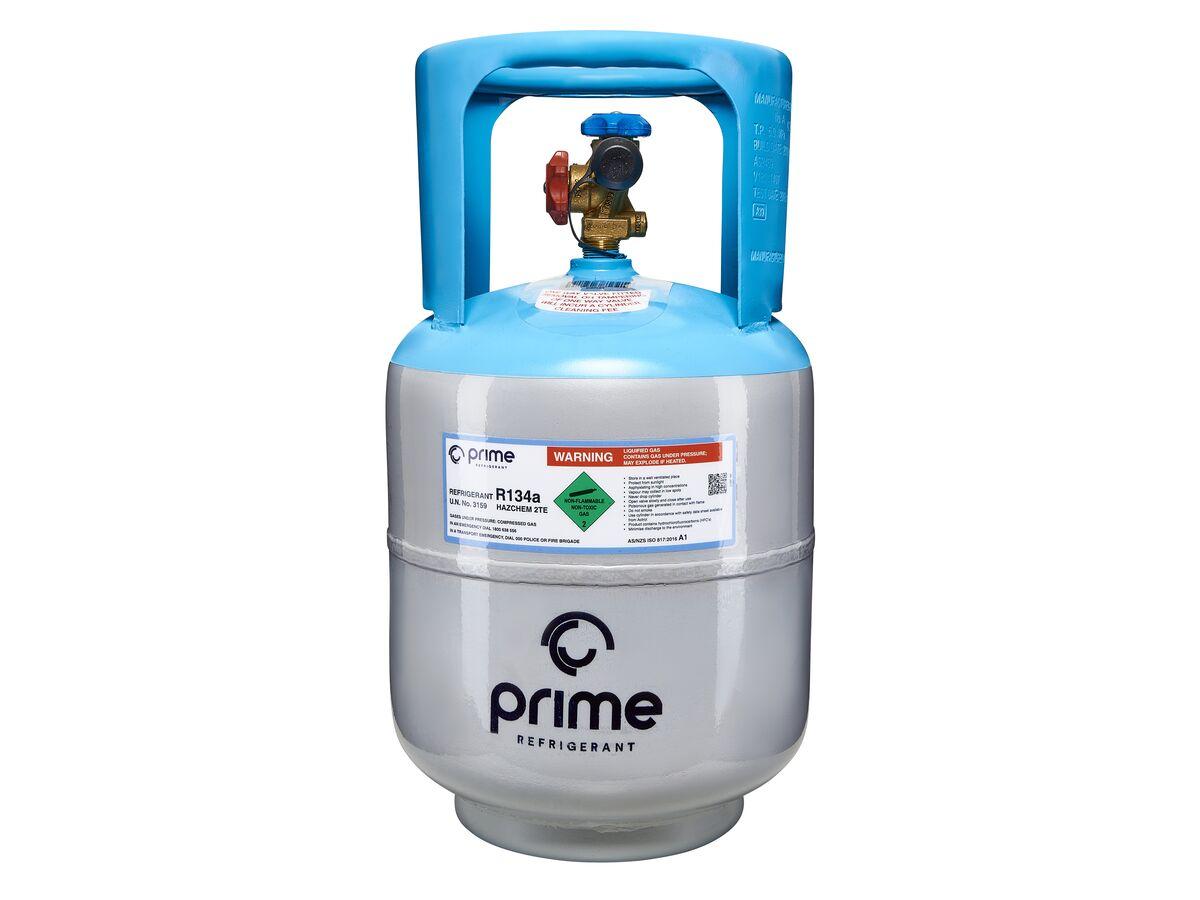 Prime Refrigerant R134a (HFC) 22kg