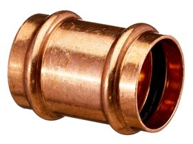 >B< Press Water Straight Connector 40mm