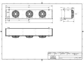 Cabero Evaporator Medium Temperature CH4C3-35-1