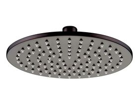 Mizu Drift Brass Overhead Shower 200mm Matte Black (3 Star)