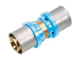 Duopex Water Crimp Straight Fitting
