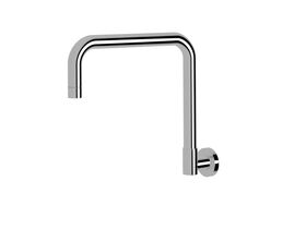 Scala Wall Spa Outlet Square Chrome