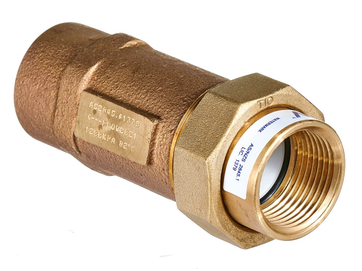 Wilkins Dual Check Valve Female x Female 25mm