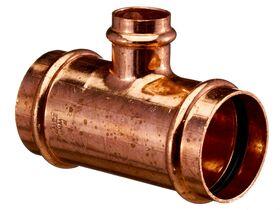 >B< Press Water Reducing Tee 40mm x 40mm x 32mm