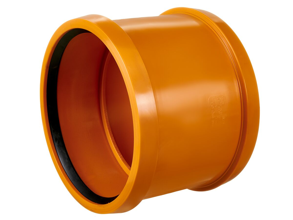 Awaduct PP Double Socket Coupler 315mm