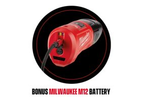 Tool Promo - Milwaukee M12 Battery