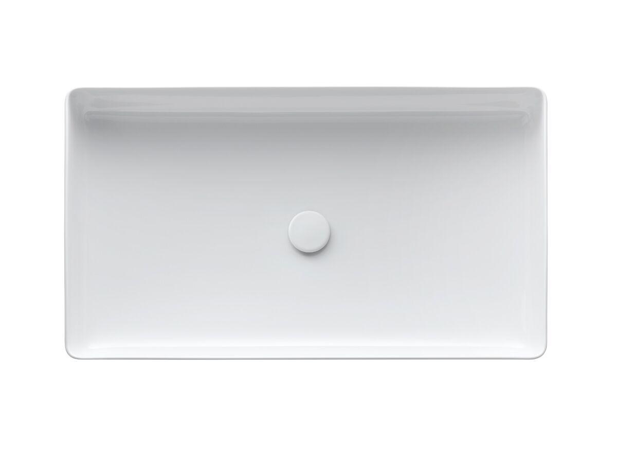 Laufen Living Saphirkeramik Counter Basin 600 x 340mm White