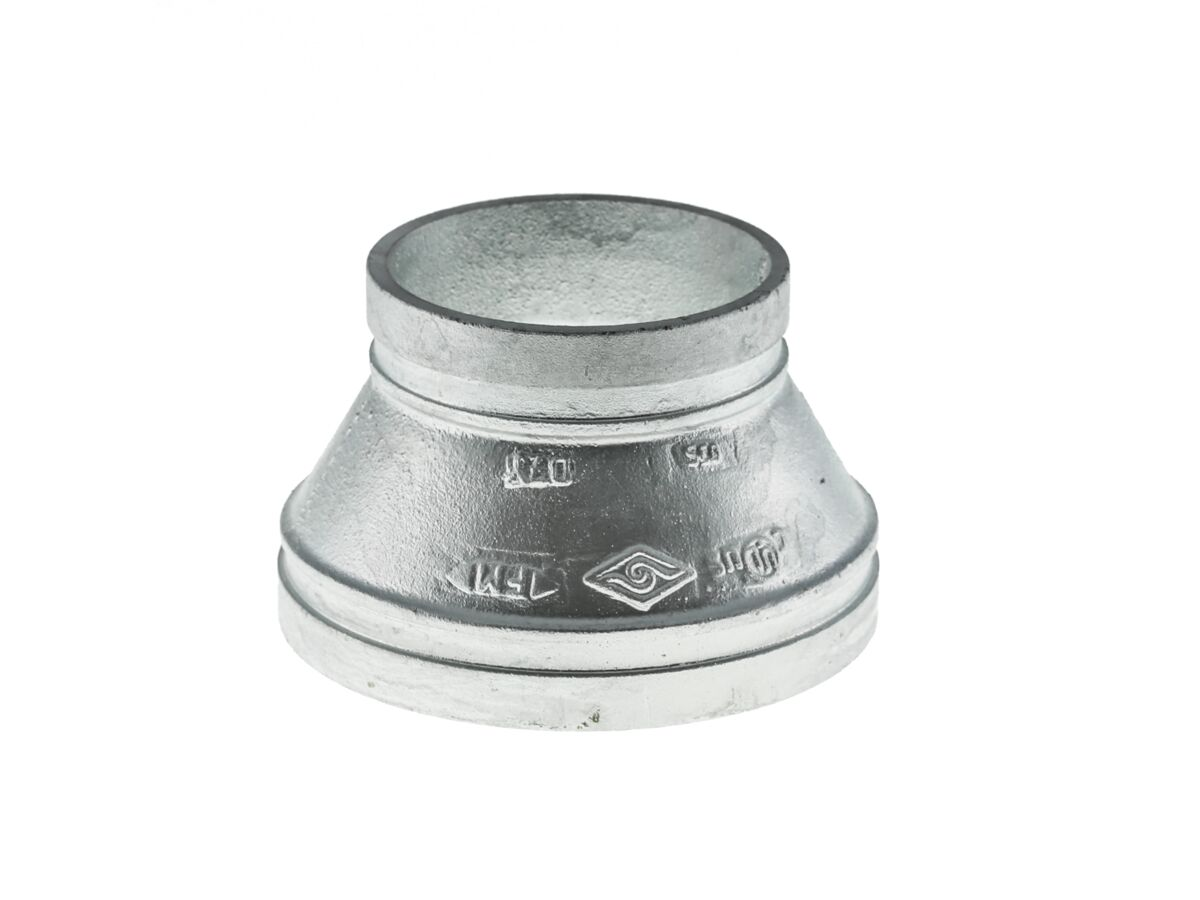 Roll Groove Concentric Reducer (Galvanized)