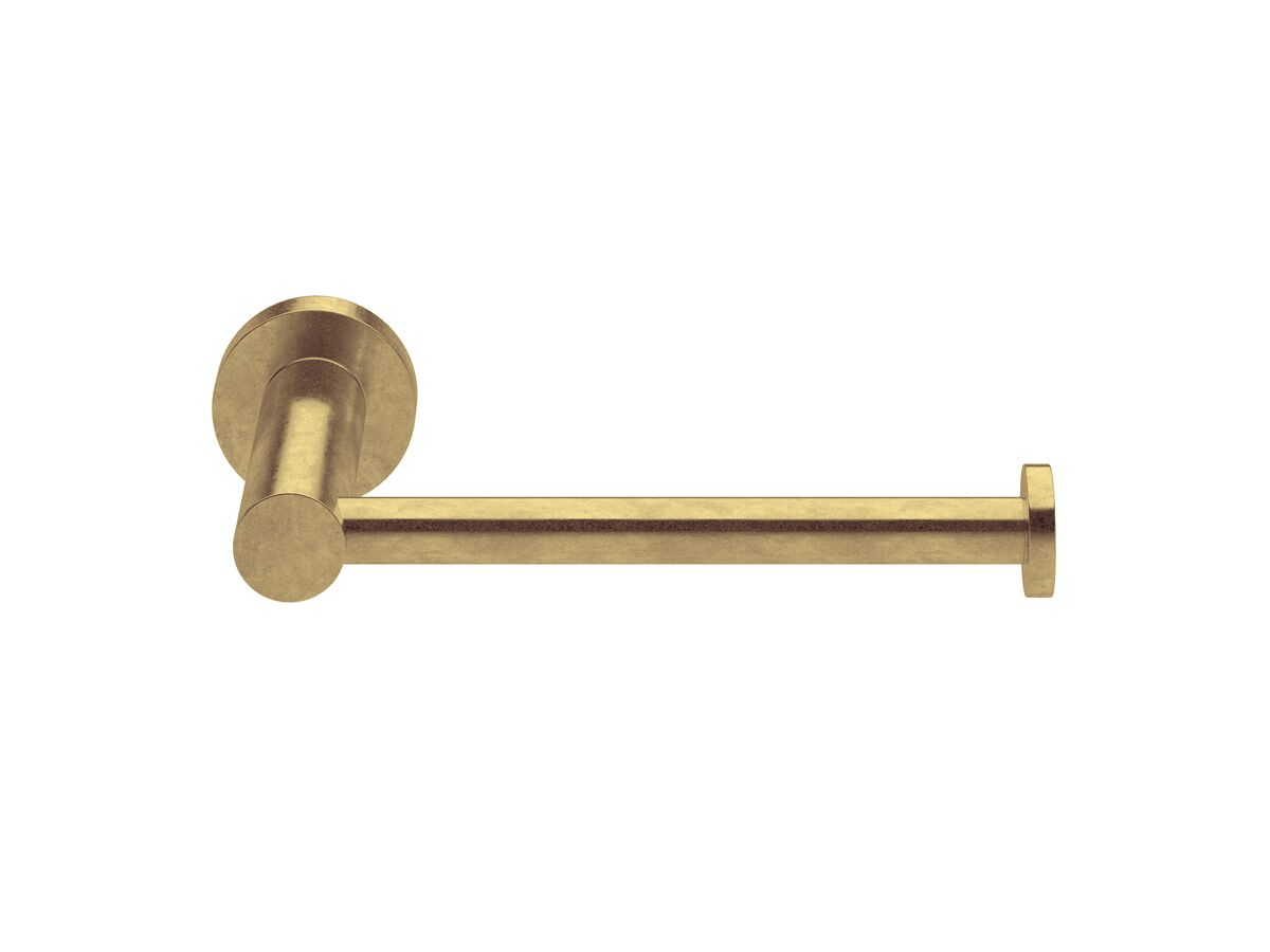 Milli Pure Toilet Roll Holder Living Tumbled Brass