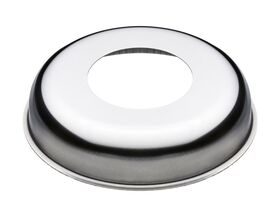 Cover Plate 40mm Cu x 20mm Rise Stainless Steel (10)