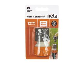 Neta Plastic Hose Connector 12/18mm H