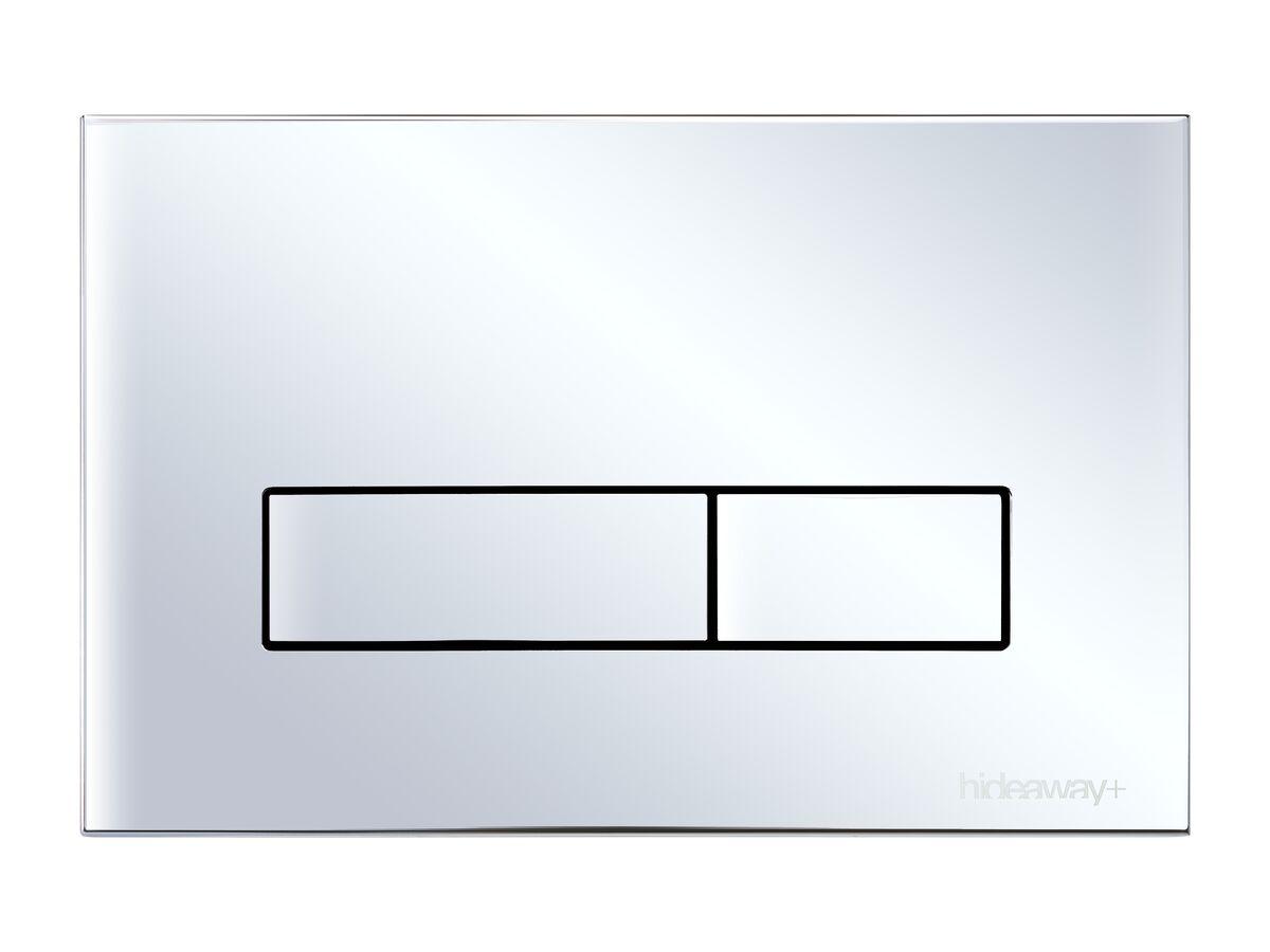 Hideaway+ Metal Button Chrome