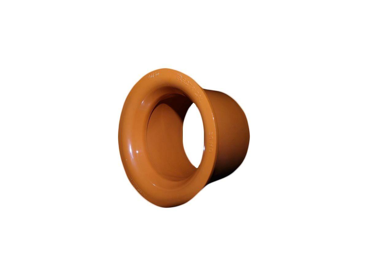 Orange Conduit Bell Mouth Coupling 50mm