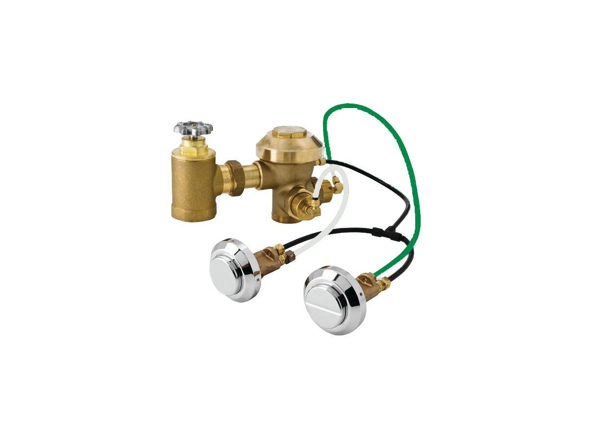 Zurn Dual Flush Adjustable Con Flush Valve Lp (3 Star)