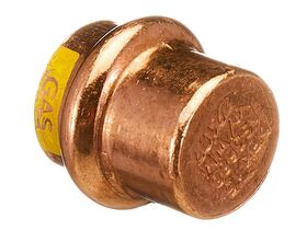 >B< Press Gas End Cap 15mm