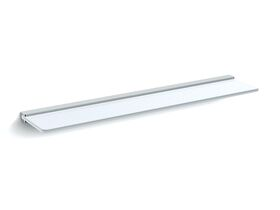 Milli Glance Glass Shelf 600mm Chrome