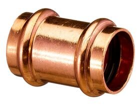 >B< Press Water Straight Connector 25mm