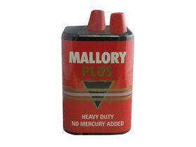 Mallory Plus 6V Heavy Duty Battery