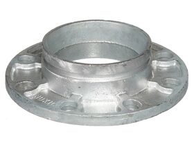 Roll Groove Table E Flange Adaptor Galvanized (165mm) 150mm