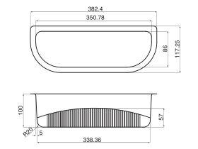 AFA Flow Colander Polypropylene (PP)