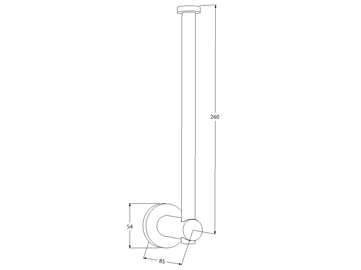 Scala Double Spare Toilet Roll Holder
