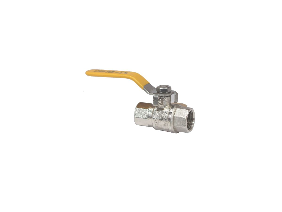 Gas Ball Valve Female Long Handle