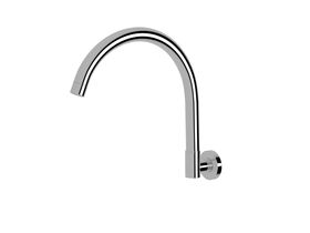 Scala Wall Spa Outlet Curved Chrome