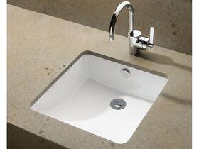 Kado Lux Under Counter Basin No Taphole 430mm White