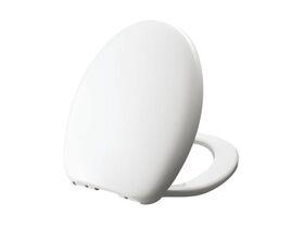 Posh Dominique/ Solus Soft Close Quick Release Toilet Seat White