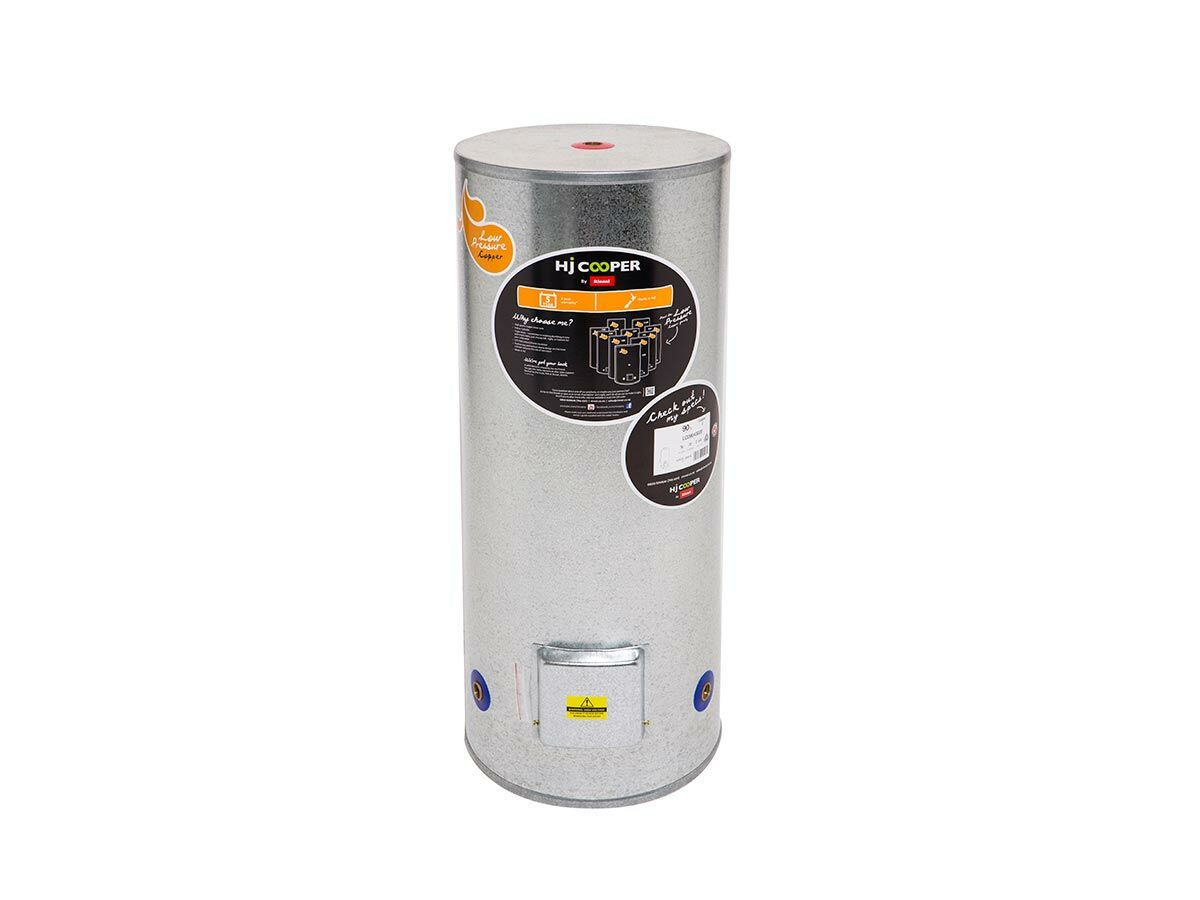 Hjc Light Pressure 90 Litre 430X1115 Triple Pre Wired 2Kw Cylinder