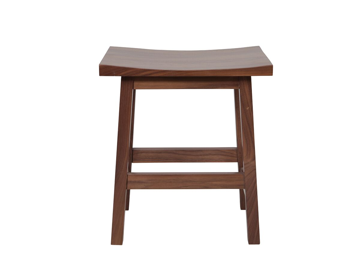 Mizu Bloc Stool (Short) Walnut