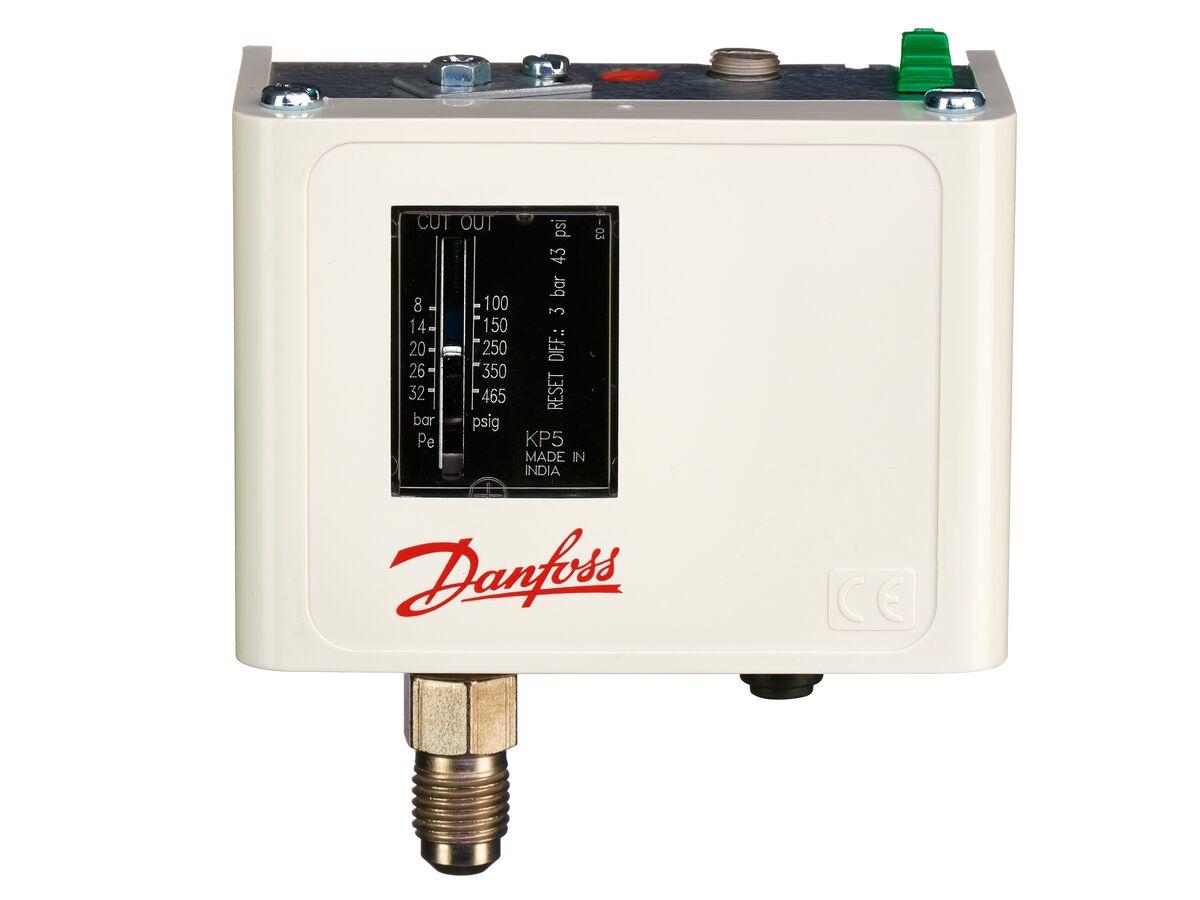Danfoss KP5 High Pressure Control Manual Reset