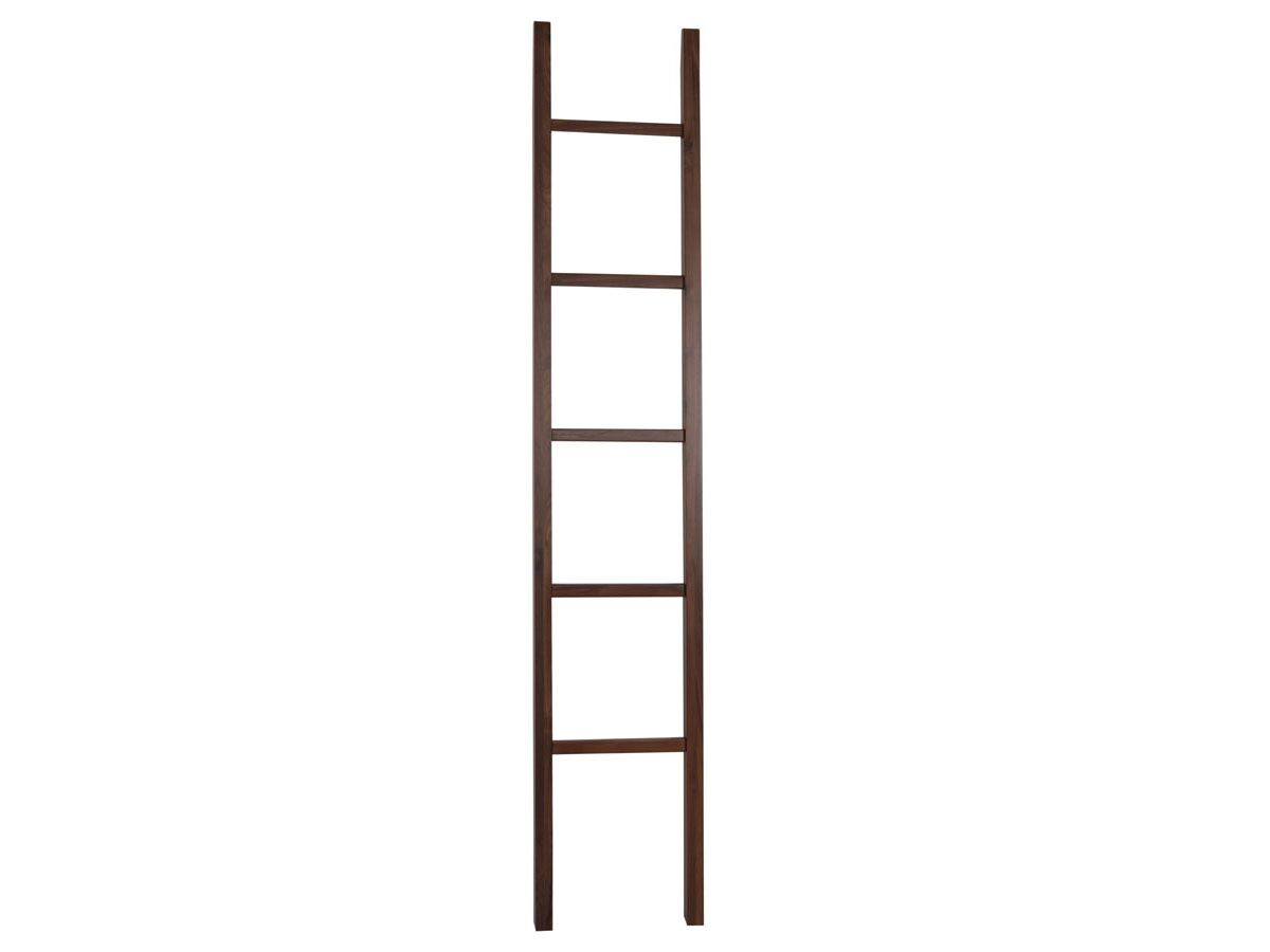 Mizu Bloc Towel Ladder Walnut