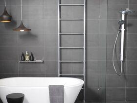 Kado Lussi Heated / Non Heated Towel Rail Floor to Ceiling Chrome