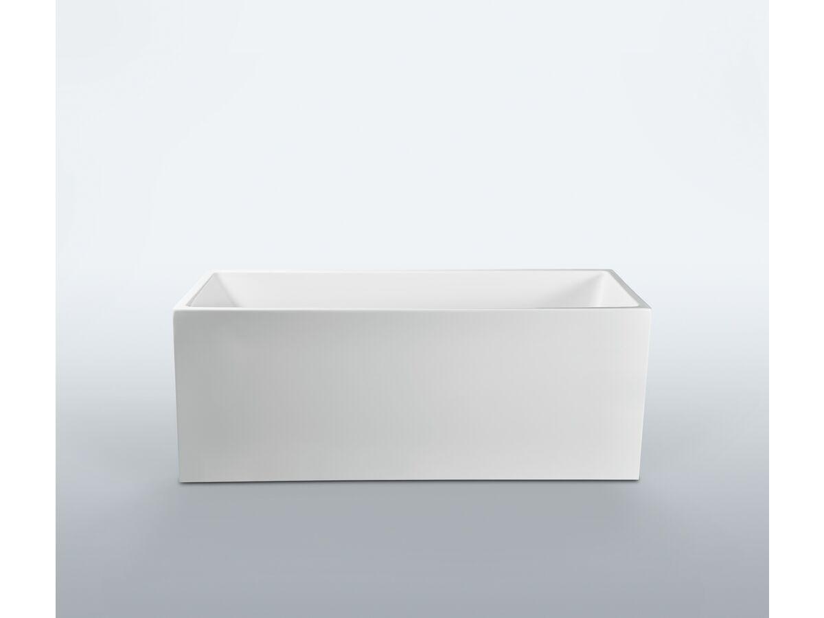 Kado Lux Freestanding Bath 1610 x 660 x 605mm White