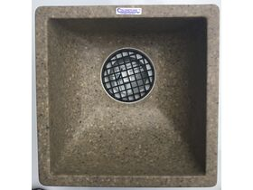 Colorstone Polymer Gully Domestic Sink - Ivory