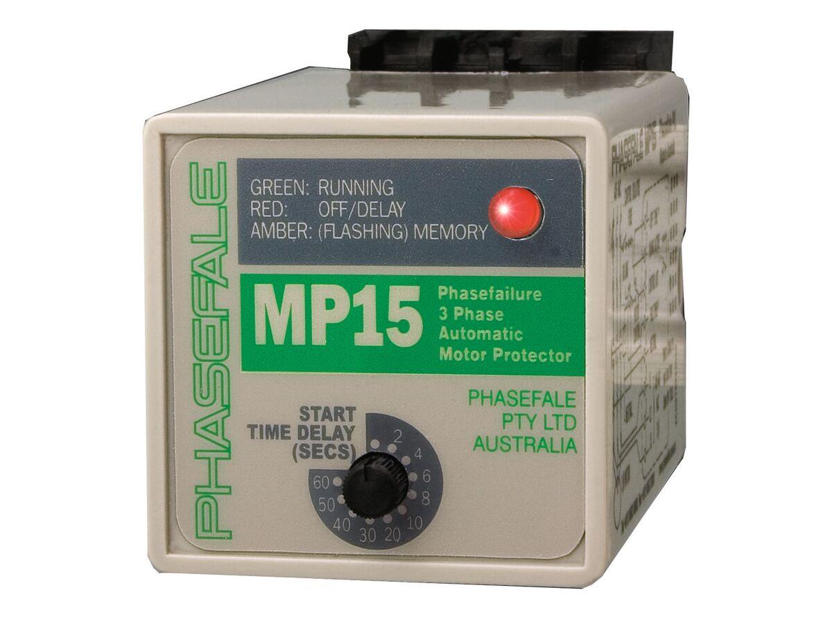 Phasefale Adjustable Motor Protector - Octal