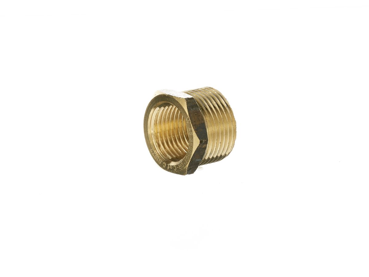 Bush Reducing Brass 20mm x 15mm