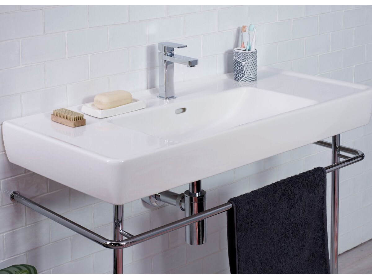 Laufen Pro A Frame for 850 Wall Basin Chrome